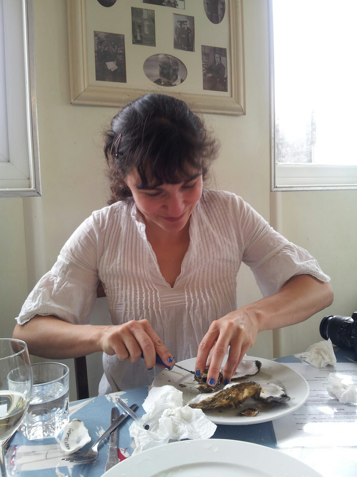 Shucking oysters: A so...