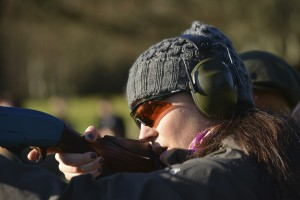 Learning to shoot with Glad Rags and Cartridge Bags