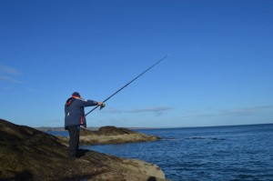 There are more than 120,000 sea anglers in Scotland